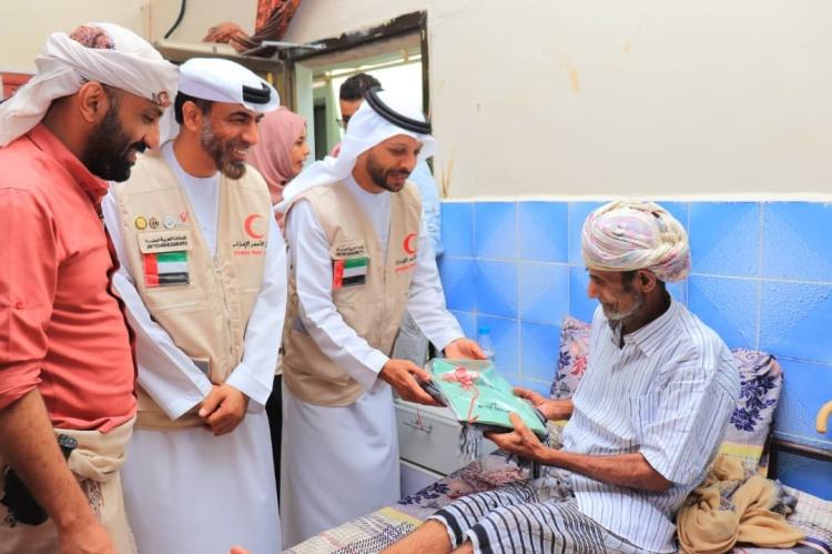 UAE Armed Forces Leaders Welcome Soldiers Yemen Arab Coalition