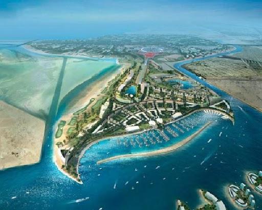 Yas Island Hotel UAE Cycling Tour Coronavirus Lockdown Quaratine Abu Dhabi