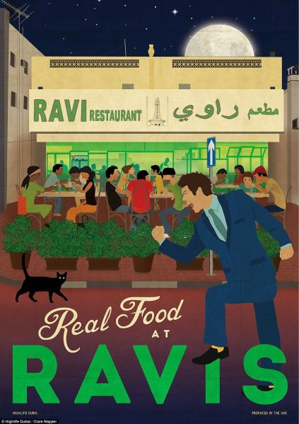 Ravi restaurant support UAE residents Dubai satwa selling personal assets
