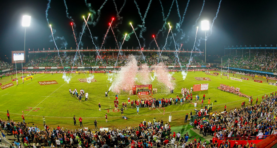 Emirates Airline Dubai Rugby Sevens 2020 edition rugby tournament cancelled this year coronavirus covid19