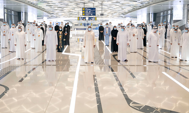 Sheikh Mohammed inaugurates Dubai Metro Route 2020 project expo 2020 site