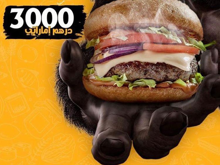 Wawan Muscle Ras Al Khaimah restaurant municipality burger wagyu beef controversy gorilla burger