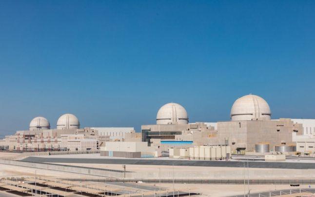 uae starts barakah nuclear reactor plant abu dhabi first middle east sheikh mohamed bin zayed al nahyan bin rashid al maktoum energy renewable