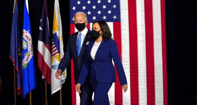 Kamala Harris first Indian-origin senator vice president usa us joe biden donald trump running mate elections politics