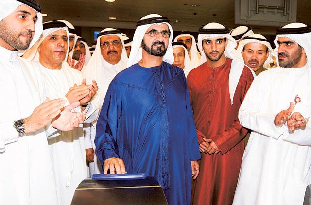 Dubai metro completes 11 years Sheikh Mohammed bin Rashid Al maktoum Sheikh Hamdan RTA Roads and Transport Authority Red line green