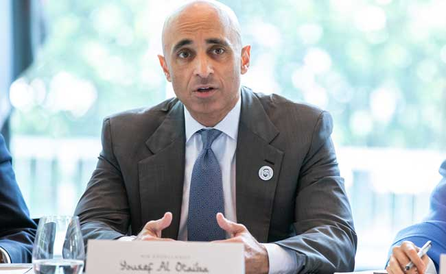 Yousef Al Otaiba Times' 100 most influential people of in 2020 uae emirati minister ambassador uae to the us usa trump abraham accord israel peace