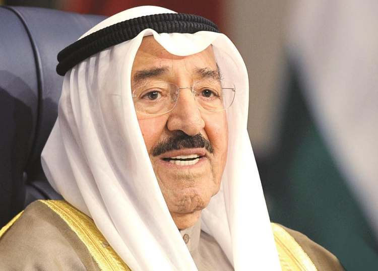 Sheikh Sabah Nawaf Al-Ahmad Al-Jaber Al-Sabah passes away aged 91 kuwait arab middle east death condolences sheikh mohamed bin zayed al nahyan mohammed bin rashid al maktoum iraq invasion