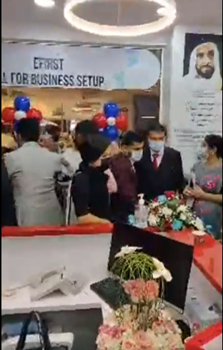 Efirst Dubai al twar shop typing service document processing shut down social distancing coronavirus covid-19 covidiot dubai economy department