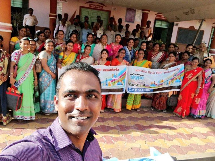 Ranjitsinh Disale Global teacher prize solapur Maharashtra india qr code technology