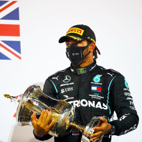 Lewis Hamilton return for Abu Dhabi Grand Prix Formula 1 One race goerge russell sakhir grand prix coronavirus covid-19 Bahrain UAE