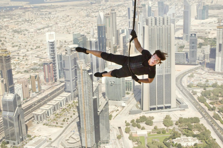 Tom Cruise Dubai UAE Mission Impossible 7 shooting filming uk