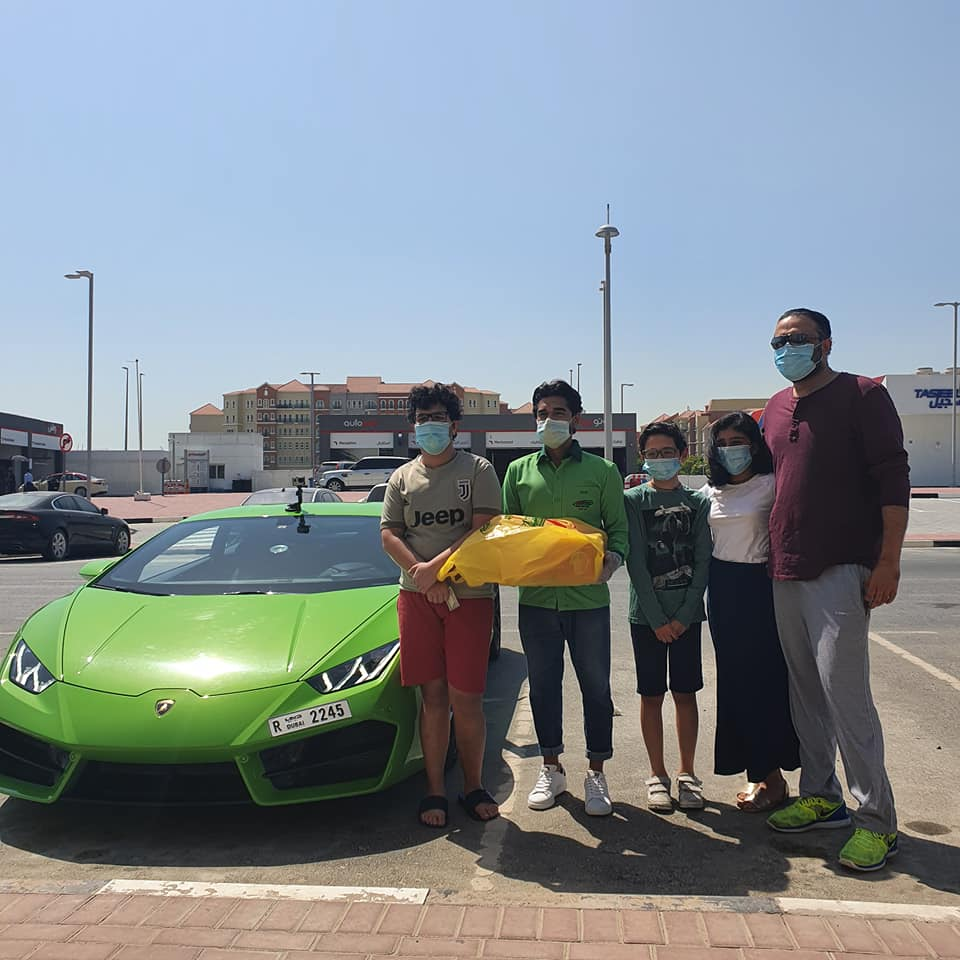 Pakistan sends a flight full of mango mangoes cartons to Dubai Lamborghini delivery fruits king